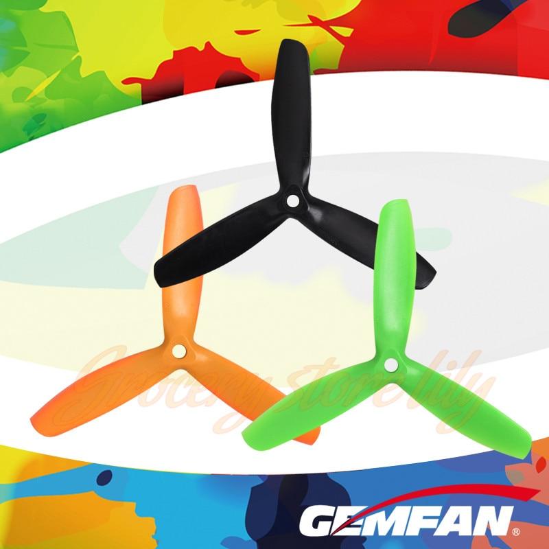 50 Pairs Gemfan 5050 3-Leaf CW CCW Glass Fiber Nylon Propellers For ZMR250 QAV250 280  Multirotors f17778 4pcs lot 2 pairs fpv nylon fiber cw ccw propeller for yuneec typhoon q500