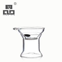 TANGPIN calor-filtros infusor de chá de vidro resistente de vidro acessórios de chá