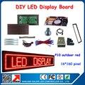 P10 dip-346 красный открытый из светодиодов DIY комплекты из светодиодов модули, Рамка, Магниты, Платы управления, Кабель для передачи данных, Usb кабель и и т . д .
