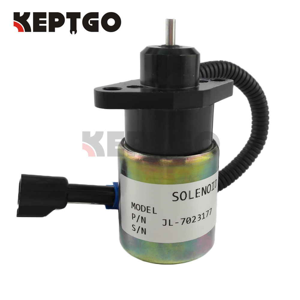New Stop Solenoid Actuator 0175-12A5C9S SA-4863 12V for Kubota EngineNew Stop Solenoid Actuator 0175-12A5C9S SA-4863 12V for Kubota Engine
