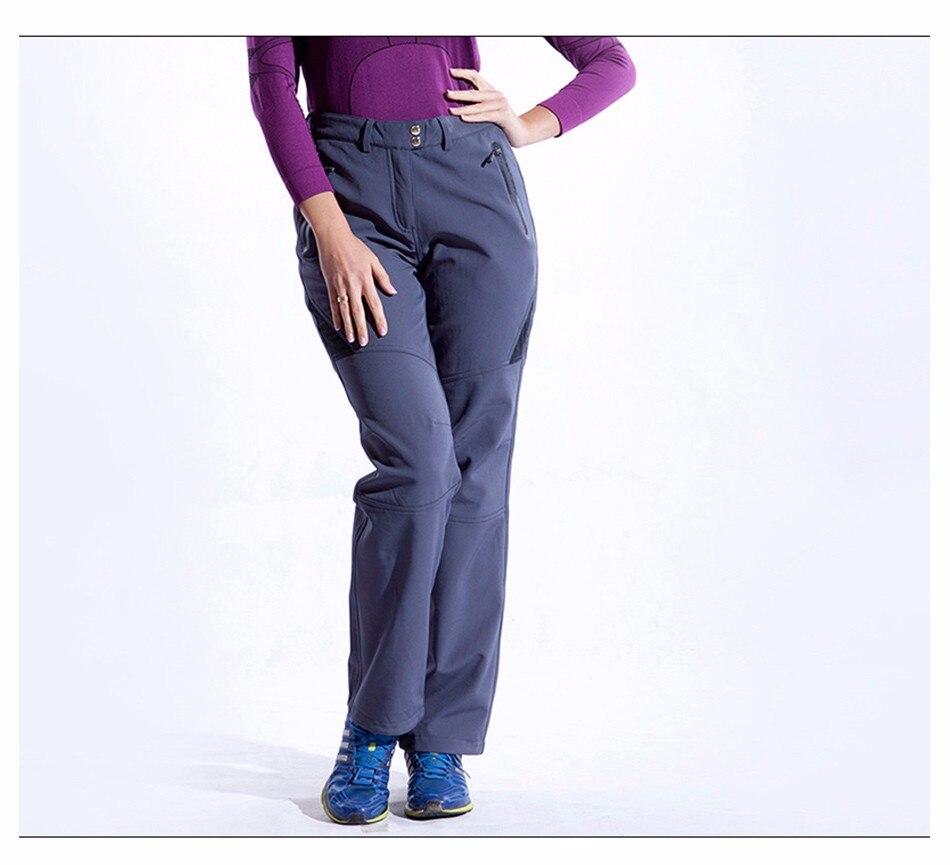 calças de acampamento para a mulher roupas esportivas de inverno # p4452