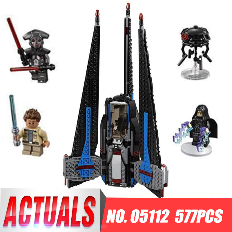 Lepin 05112 Model building kits compatible with legoing 75185 Star wars Series  Pursuit of type I fighter toys & hobbies Gifts lepin 05037 star wars ucs slave i slave no 1 model 2067pcs minifigure building block toys 100