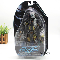 NECA Alien vs Predators Masked Scar Predator and Scar Predator Action Figure Toy 21cm