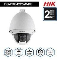 Hik PTZ IP Камера DS 2DE4225W DE 2MP 4,8 120 мм объектив 25X зум Скорость купольная POE Камера H.265 + Поддержка Defog EIS региональных фокус