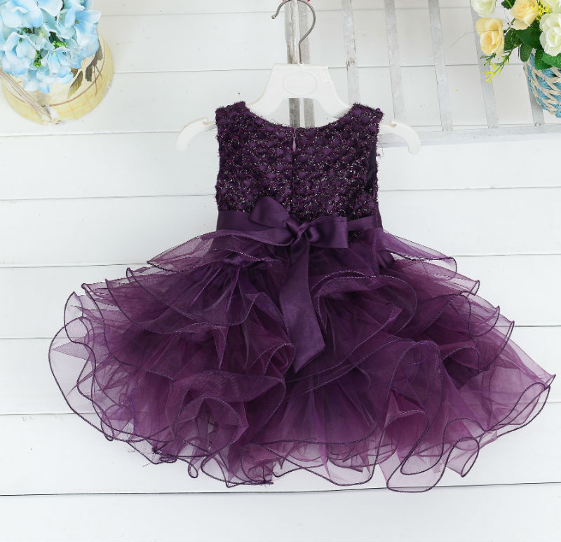 Flower     Girl     Dresses   Cap Sleeves Tulle Ball Gown Satin Tulle Bow First Holy Communion   Dresses   for   Girls