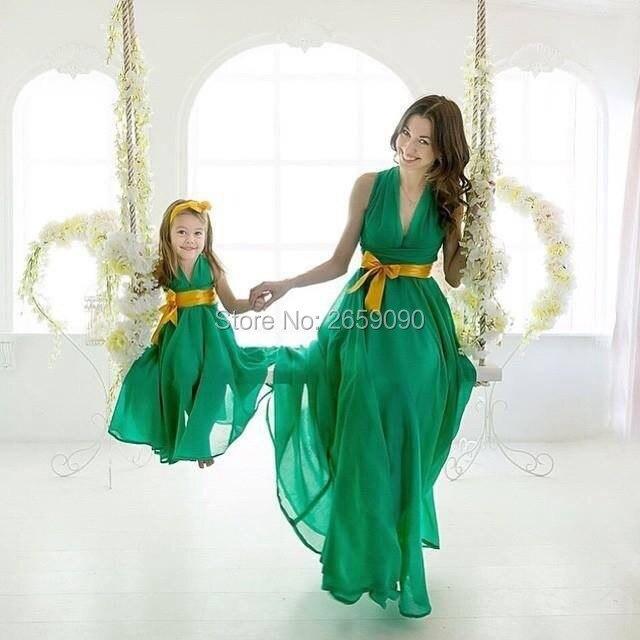 Jurkje groen bruiloft