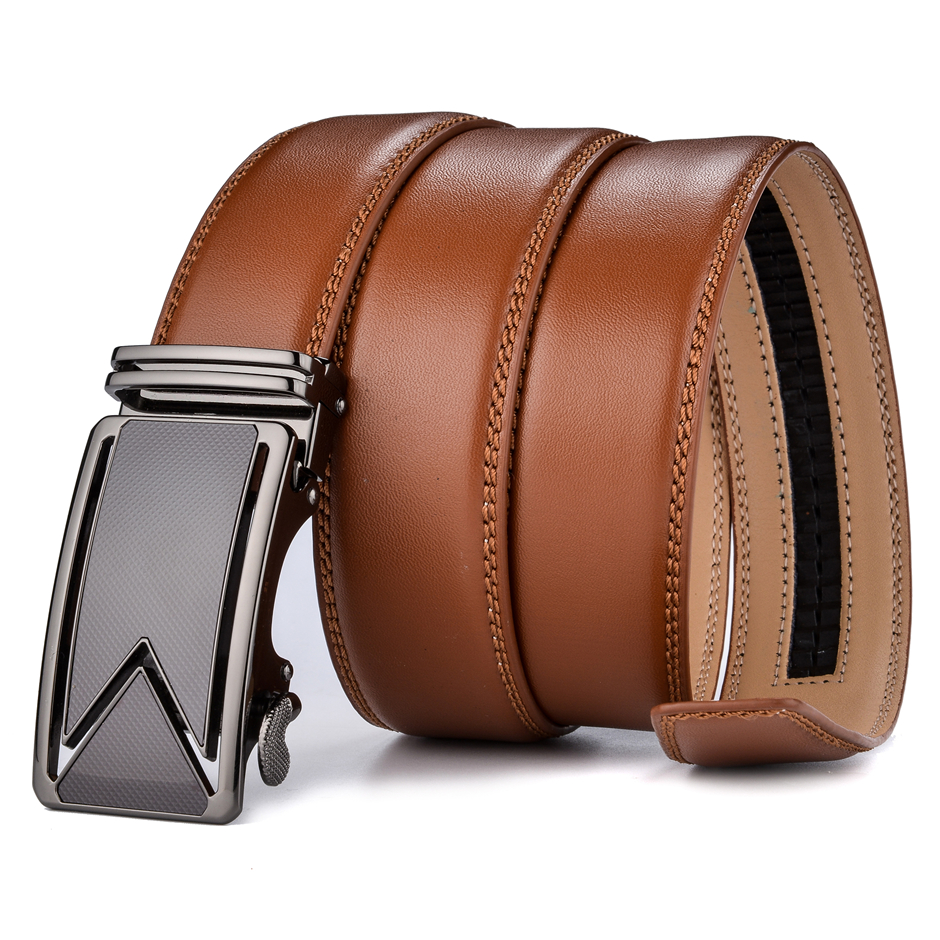 At the bottom of the page for Mens Leather Belts, Women's Leather Belts, Bridle Leather Belts, Leather Work Belt and Leather Straps there is an area where you can build your belt from the list of available options. You will be able to select the width, color, buckle, finish and Harness or Bridle leather.