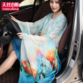 165*140 2016 Arrival Summer Beach Cover up Large Pareos Chiffon Wrap Shawl Beach Sarongs For Women Silk Scarf Sunscreen Clothing