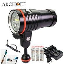 ARCHON D35VP II UPDATE D35VP W41VP Unterwasser Fotografieren Licht Unterwasser Tauchen Fashlight Video Taschenlampe
