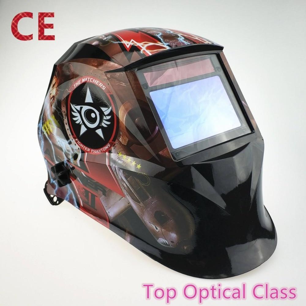 Welding Helmet 100 65mm 1111 4 Sensors Grinding DIN 3 4 13 MMA MIG MAG TIG
