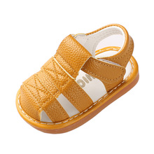 COZULMA 2019 Summer Baby Boy Shoes Infant Girl Sandals Beach Closed Toe Safty for Soft Bottom