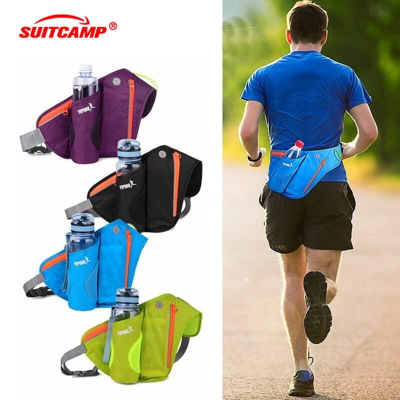 Running Waist Bags Fanny Women Pack Pouch Belt Men Purse Mobile Phone Pocket Case Camping Hiking Sports Hot Sale Water Bottle