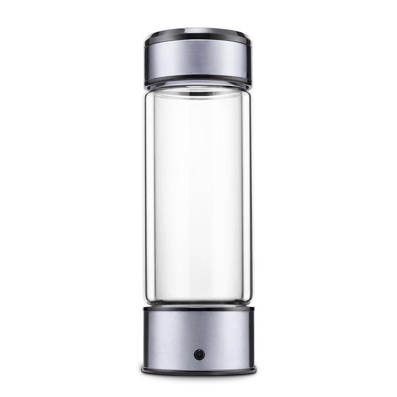 Portable Water Ionizer Hydrogen Generator For H2 Rich Hydrogen Water Bottle Ionizer 450ML USB Electrolysis Hidrogen