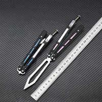 BRS REP, новый подшипник, тренировочный нож, Бабочка, складной нож для кемпинга, охоты, EDC Инструменты 440C, лезвие G10 + стальная ручка