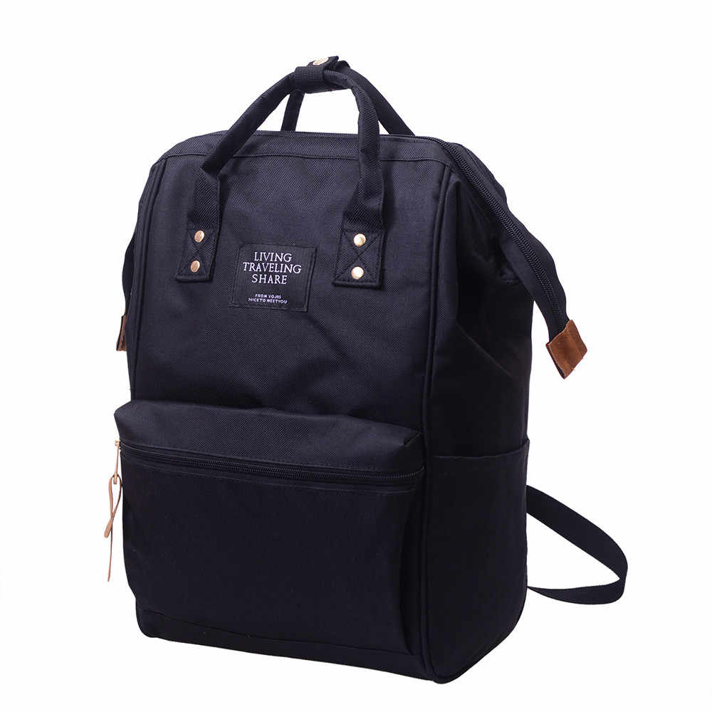 OCARDIAN-Backpack Female Korean Version Laptop Casual Women Fashion Male Travel Simple Style Anti Theft 2019 Dropship 5M16