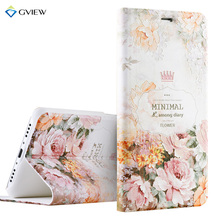 Luxury PU Leather 3D Relief Printing Stereo Feeling Flip Cover Case For Meizu M3 mini M3s