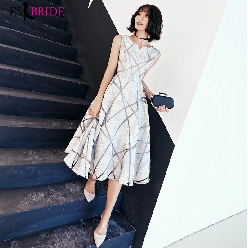 White Evening Dresses Formal Dress Women Elegant Formal Gown A-line Special Occasion Dresses Party Women Evening Dress ES2368