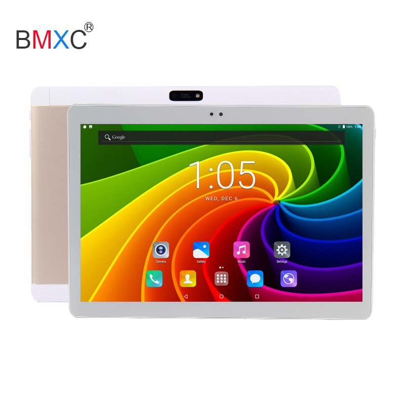 Original BMXC 10 inch Octa Core 3G 4G FDD LTE Tablet 4GB RAM 32GB ROM GPS 1280*800 IPS Android 7.0 tablet 10 10.1 for kids gift 你好 法语4 学生用书 配cd rom光盘