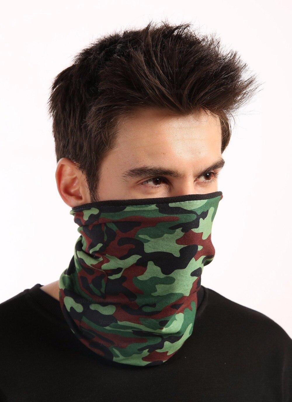 21 Estilo de camuflaje Poliéster Bufandas Headwear Bandanas Deportivas Al Aire L