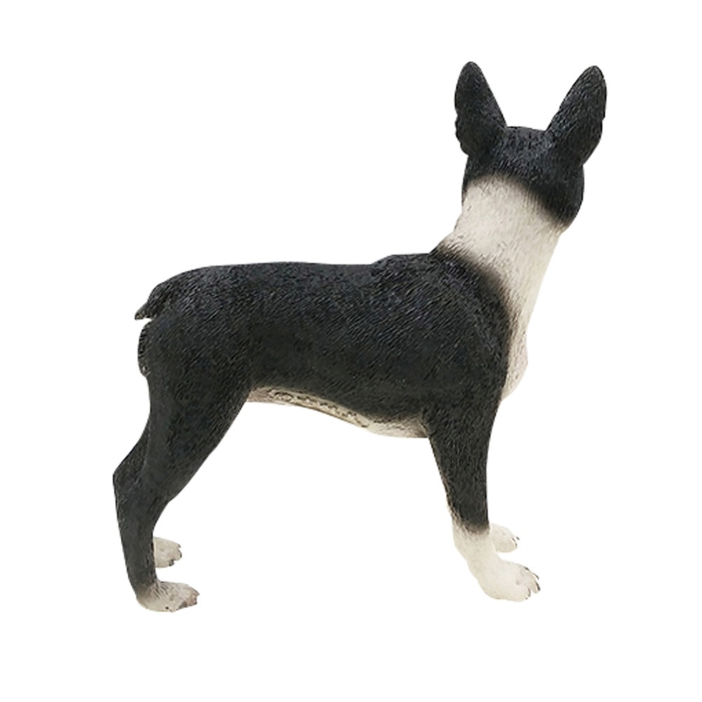 Black And White Boston Terrier Resin Dog Hanmade Figure Puppy Statue For  Dog Lovers In Statues U0026 Sculptures From Home U0026 Garden On Aliexpress.com |  Alibaba ...