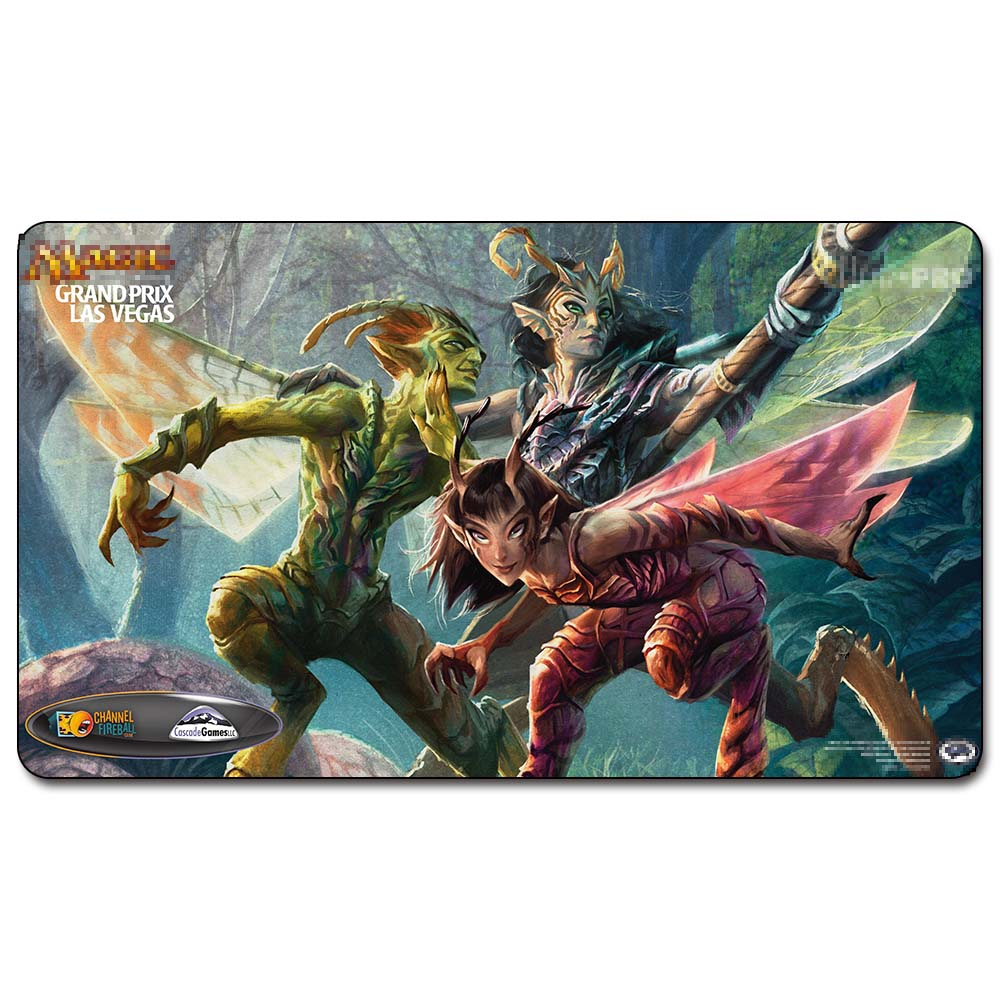 Magic trading card game Playmat: Vendilion Clique 213.GP <font><b>LasVegas</b></font> SideEvents Art art playmat 60cm x 35cm (24