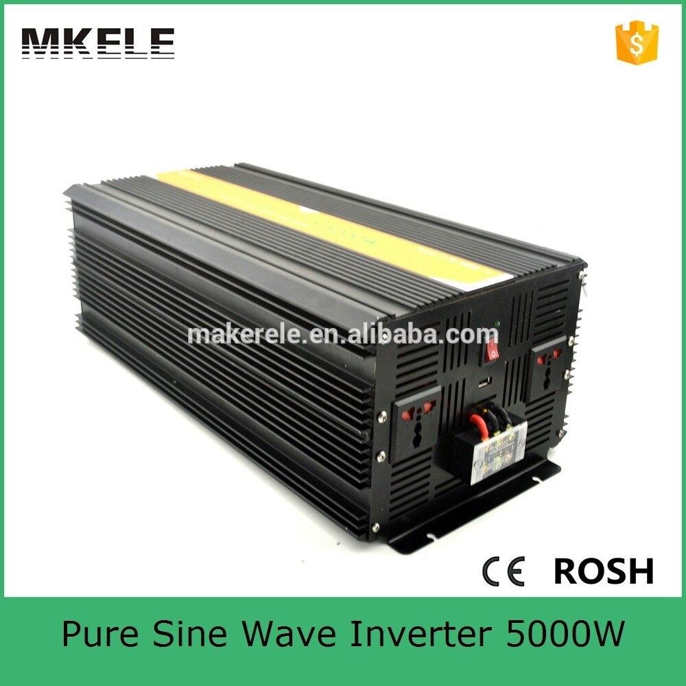 MKP5000 242B 5kva dc ac power inverter 5000va 24v 220/230/240vac pure sine wave electric inverter for house using