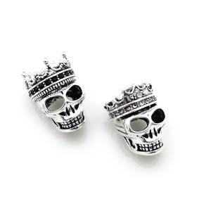 2d8a552f0249c hemiston Skull DIY Bracelet Heart Jewelry Gift Women