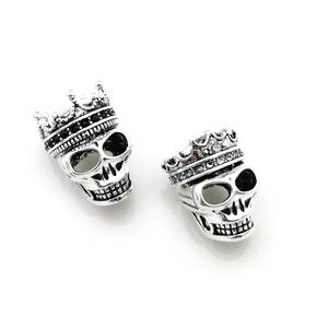 db6fef17fe9ff hemiston Skull DIY Bracelet Heart Jewelry Gift Women