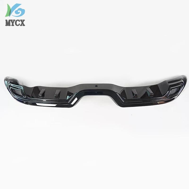 Pour TOYOTA C HR CHR C HR 2016 2017 2018 2019 pare chocs arrière diffuseur garde plaque de protection haute qualité voiture Modification accessoires - 6