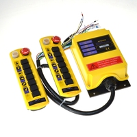 440VAC 2 Speed 2 Transmitter 7 Channel Control Hoist Crane Radio Remote Control System Controller