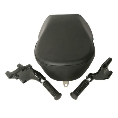 TCMT Motorcycle Passenger Rear Seat Footpeg Mount For Harley XL Sportster 1200 883 2007-2015 14
