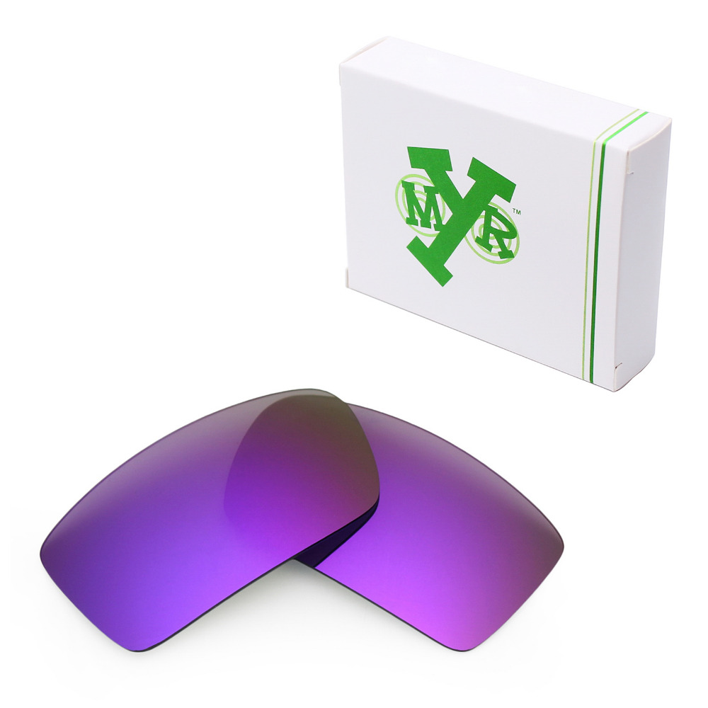 2eae7a2e1b Mryok anti-Scratch polarizado Objetivos para Oakley GASCAN Gafas de sol  plasma Purple