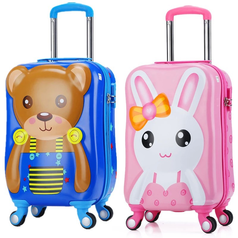 Cartoon Three-dimensional Trolley case,Childrens Suitcase,Cute password Trunk,Universal wheel Luggage,19Children boarding BOX Cartoon Three-dimensional Trolley case,Childrens Suitcase,Cute password Trunk,Universal wheel Luggage,19Children boarding BOX