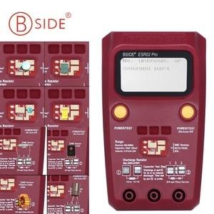 Image 2 - BSIDE ESR02PRO Digital Transistor Tester Multimetro Componenti SMD Diodo Triodo di Capacità di Induttanza Resistenza Lcr Meter
