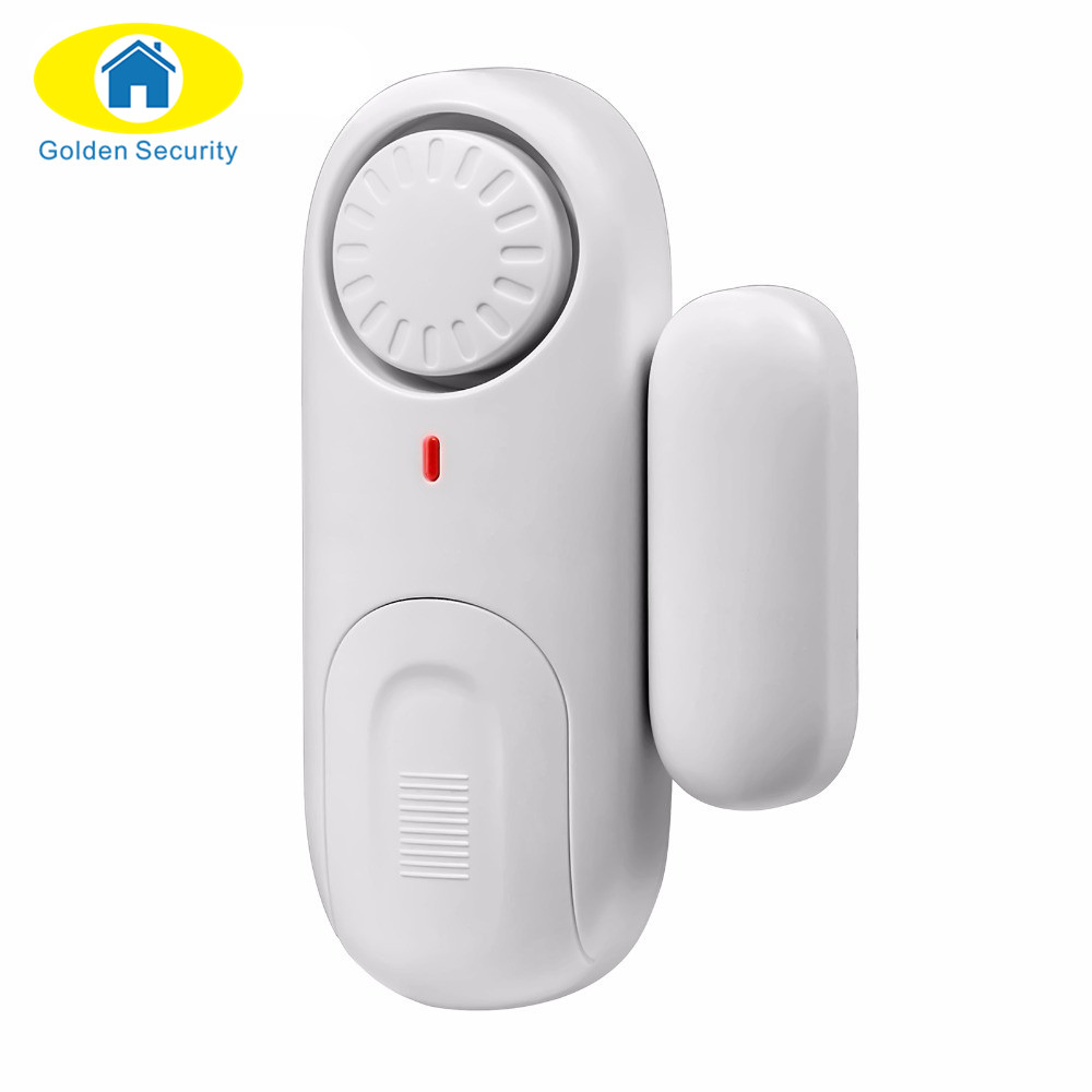 Golden Security work independently Door Window Sensor Magnetic Switch Home Alarm System Detector high quality hot sale 100db wireless alarm system burglar safely security window door home magnetic sensor best promotion