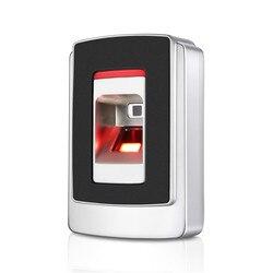 F5 Outdoor IP68 Waterdicht Biometrische Vingerafdruk RFID Deur Toegangscontrole met RFID Kaartlezer