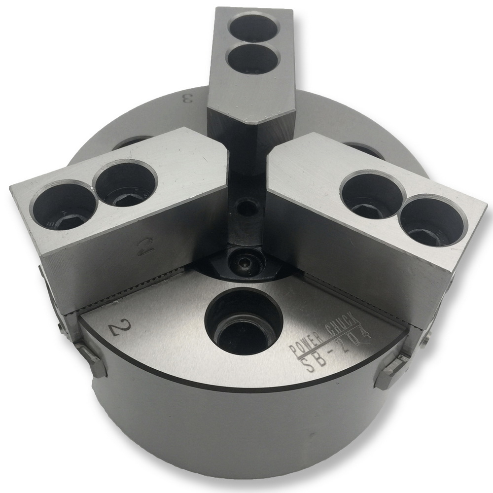 MZG SB-210 6 8 10 pollice 3 Jaw Hollow Potenza Mandrino per CNC Tornio Noioso Portautensili di Taglio Lavorazione del Foro
