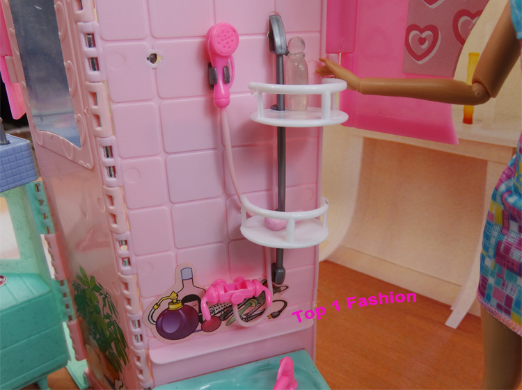 New Arrival Children Girl Birthday Gift Play Toy Doll House Bathroom  Furniture For BJD Simba Lica Barbie Dolls House In Dolls Accessories From  Toys ...