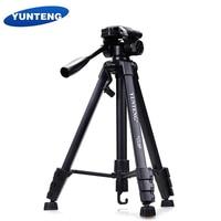 Yunteng 668 Professional Aluminum Tripod Camera Accessories Stand with Pan Head For Canon Nikon Sony SLR DSLR Digital Camera