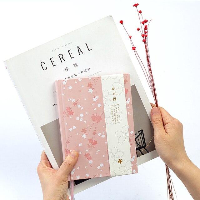 japanese kawaii cute sakura flower planner dairy monthly weekly plan