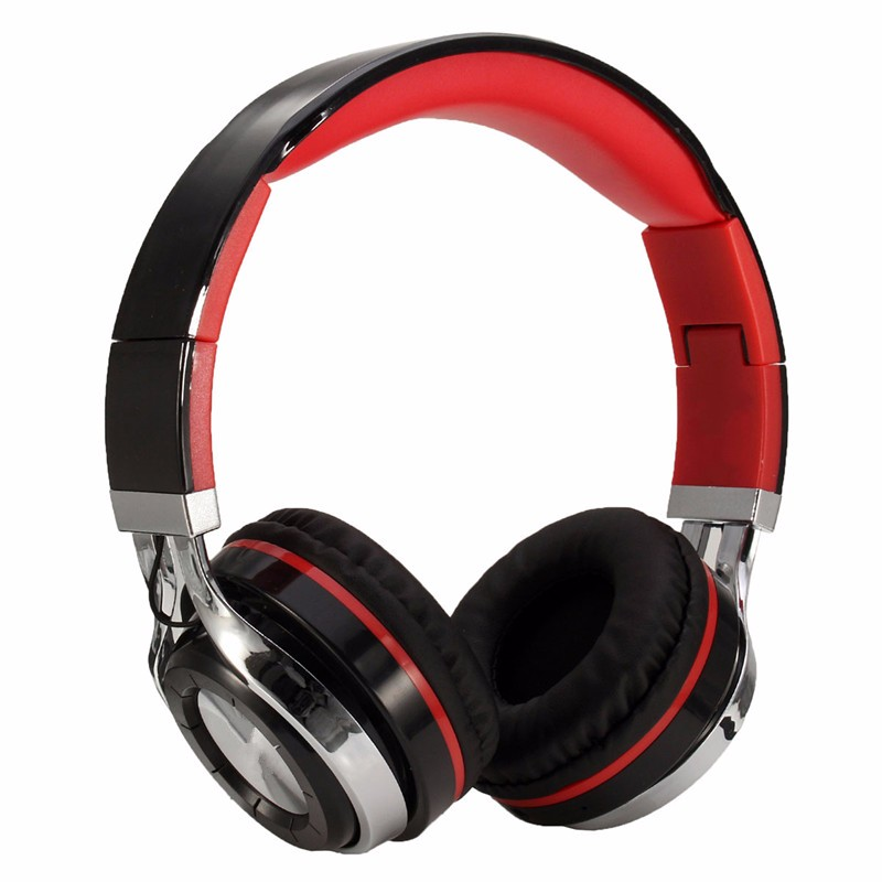 new bluetooth 4 0 wireless headphone 3d surround sound effect folding headset with mic song. Black Bedroom Furniture Sets. Home Design Ideas
