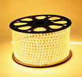 luces tira led 220v 3528 LED Strip 220V 4W/M 60LEDs/M IP67 Waterproof Red/Yellow/Blue/White LED Light Strip
