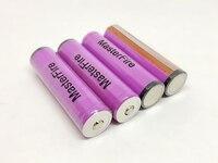 Оптовая продажа MasterFire защищенные оригинальные Sanyo 3,7 V 3000 mAh 18650 аккумуляторные батареи UR18650ZTA литий ионные батареи с PCB