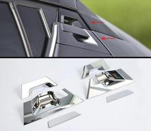 цена на For Toyota C-HR 2016 2017 2018 ABS Chrome Car Rear Tail door handle bowl cover trim auto accessories car styling