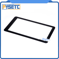 1 pc protetores de vidro compatível para 5.5 polegada lcd 2560x1440 2 k ls055r1sx03 para photon wanhao d7 impressora 3d de cura de luz