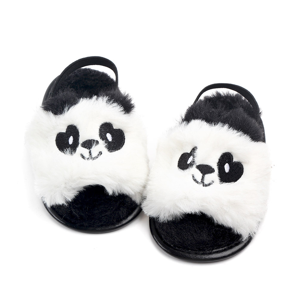 Baby sandals girls baby summer Kids Shoes Lovely Plush Toddler Princess Non-slip Crib Slippers Kids Gifts baby summer shoes Gift (6)