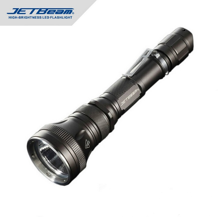 Free Shipping Original JETBEAM RRT-15 Cree XM-L LED 480 lumens LED Flashlight Daily Torch Compatible with 3*CR123 battery free shipping jetbeam niteye ko 01 tactical flashlight 1080 lumen by 1 18650 side switch torch