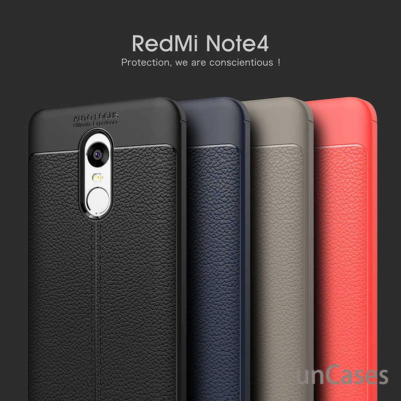 Untuk Xiaomi Redmi Catatan 4 Kasus 5.5 inch Mewah Ultra-tipis Lembut TPU kulit Telepon Kasus untuk Xiaomi Redmi Catatan 4 Catatan Kasus 4X Note4X