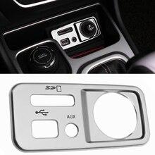 2016 автомобилей Стайлинг консоли сигареты блестки интерьера хромированной отделкой украшение для Jeep Cherokee автомобиль Интимные аксессуары украшения Блёстки