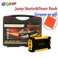 Car Jump Starter emergency power supply 4USB Multi Function Mini Portable Mobile Car Jump Starter Booster Starting Power Bank